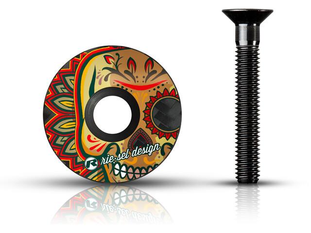 Riesel Design stem:cap voor Headsets, los muertos